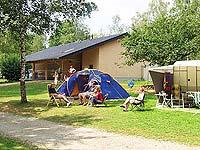 Stellplätze auf dem Campingplatz