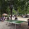 Table tennis area